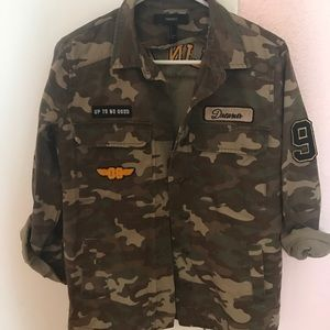 Camo Jacket w Patches